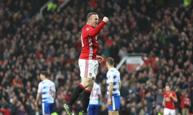 Wayne Rooney equals Bobby Charlton's Manchester United goal record