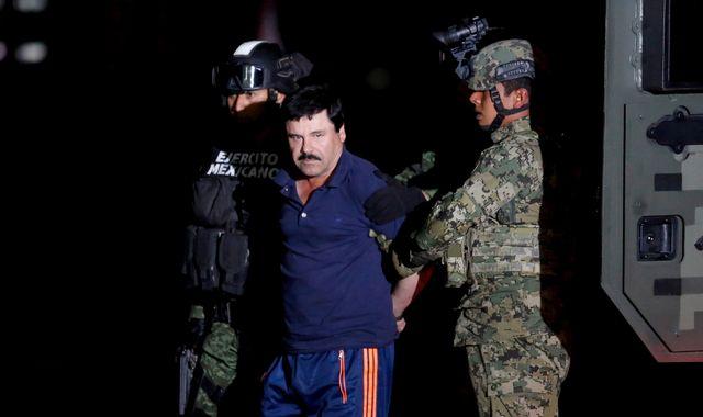 Mexico extradites drug lord Joaquin 'El Chapo' Guzman to US