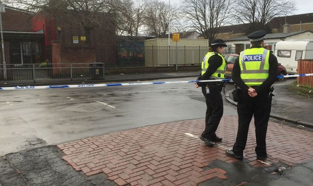 Investigation after shooting near Glasgow primary school
