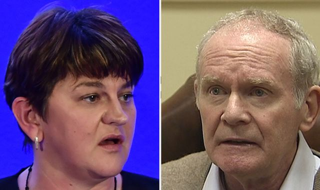 N Ireland Government at point of collapse as Sinn Fein refuses to replace McGuinness