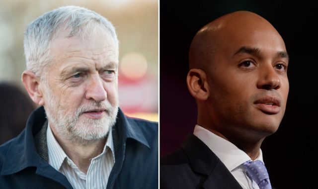 Labour rebels defy Corbyn and threaten PM with 'hard Brexit' revolt