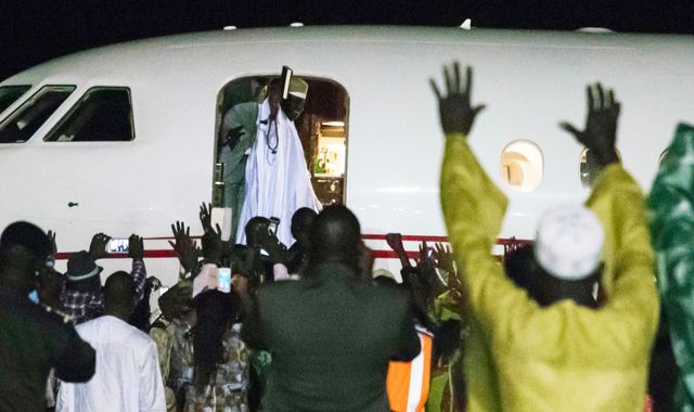 Gambia's exiled leader 'virtually emptied' the coffers