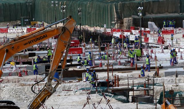 British man killed working on World Cup stadium in Qatar