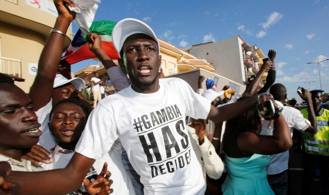 The Gambia parties for now but fears of post-election violence linger