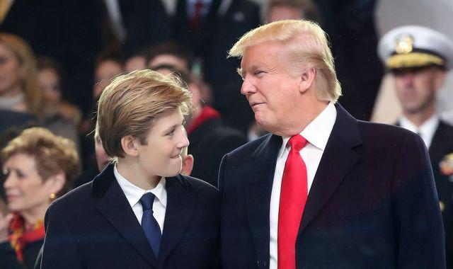 Suspended SNL writer apologises for Barron Trump joke