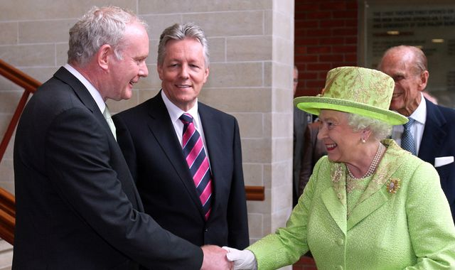 Martin McGuinness: A journey from guns to government