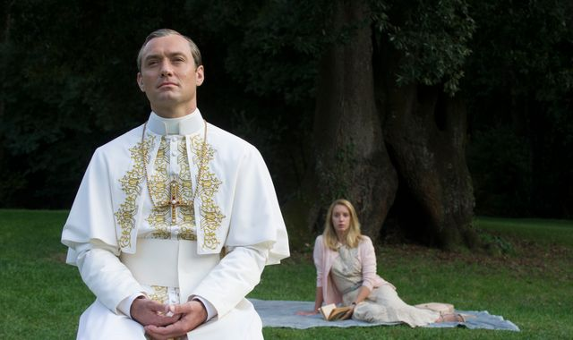 Sky's The Young Pope wins over hearts at US premiere