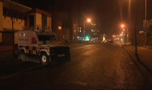 High-velocity rifle used in attack on Northern Ireland officer