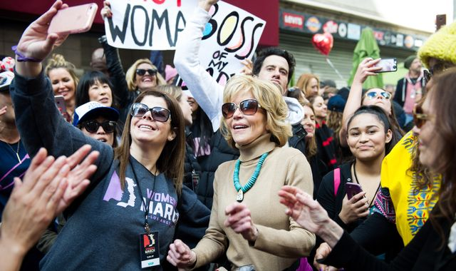 Millions of women protest against Donald Trump worldwide