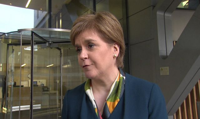 Sturgeon: May's Brexit plan makes Scottish Indyref2 'more likely'