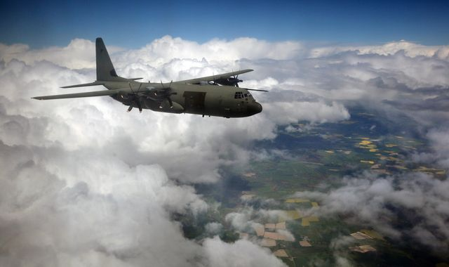RAF in 'utterly shocking' unauthorised Hercules plane landing in Ireland