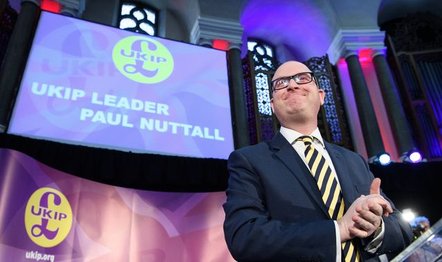 UKIP leader Paul Nuttall to fight Stoke Central by-election