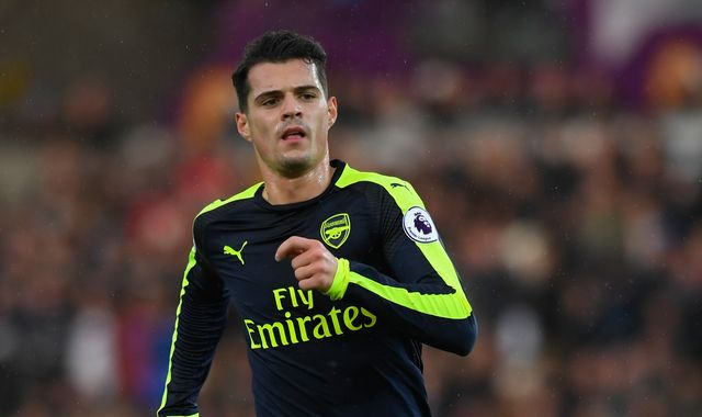 Arsenal player Granit Xhaka questioned over race abuse claim at Heathrow