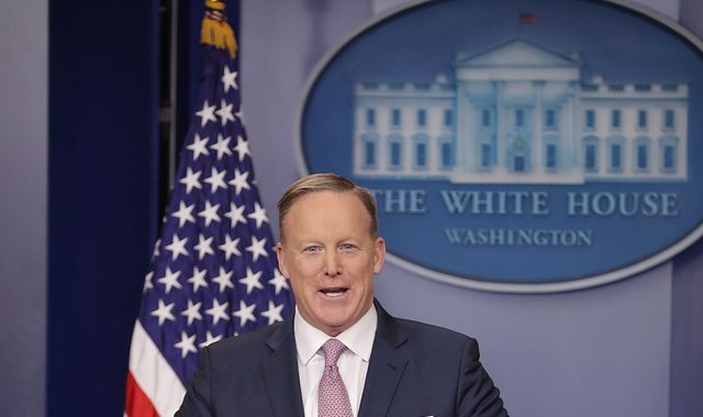 Trump spokesman Spicer: Our intention is not to lie