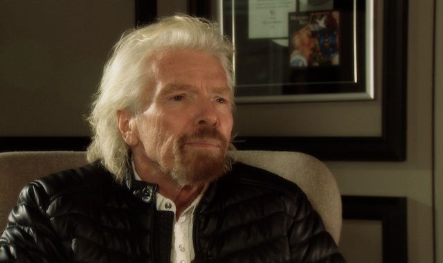 Sir Richard Branson backs Sky's Ocean Rescue campaign