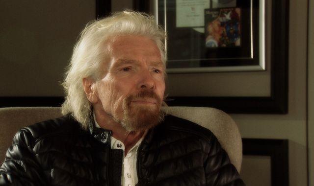 Sir Richard Branson backs Sky's Ocean Rescue campaign