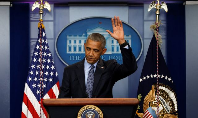 Obama's parting message: 'We're going to be okay'