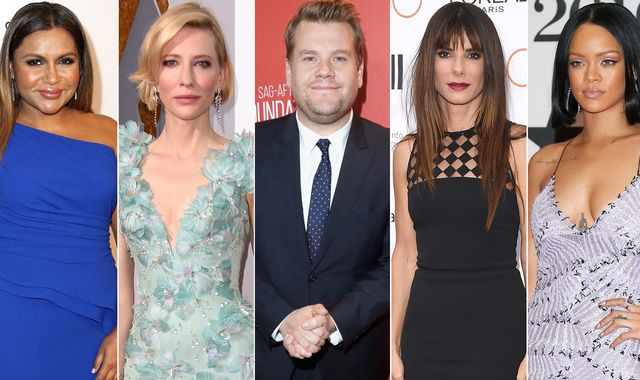 James Corden joins Rihanna and Sandra Bullock in Ocean's Eight