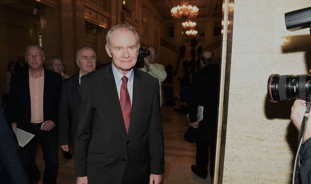 Martin McGuinness announces retirement from politics