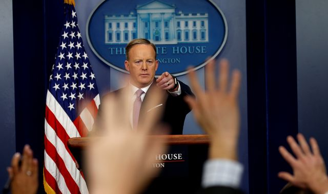 White House takes friendlier approach to press after angry start
