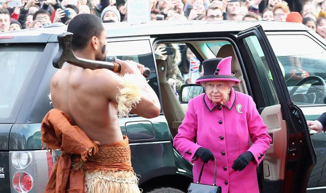 Queen Elizabeth visits Fiji exhibition on first official 2017 engagement