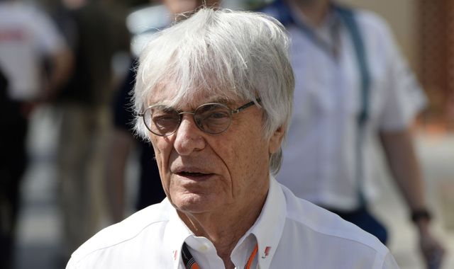 Bernie Ecclestone no longer F1 chief executive - statement