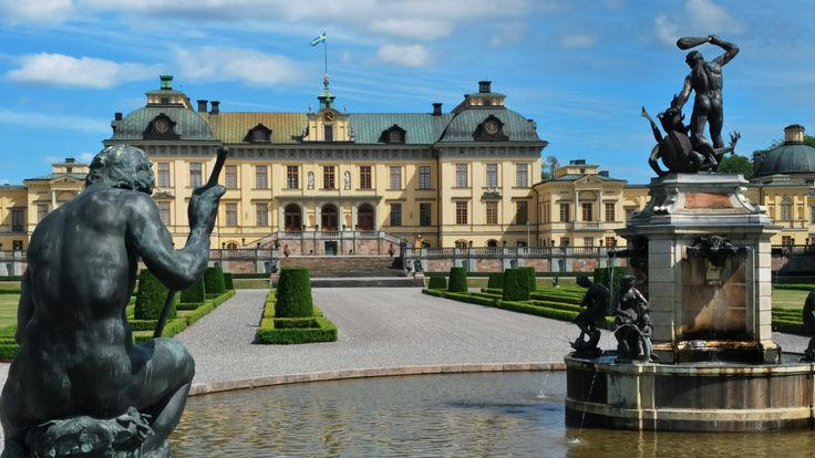 Drottningholm Palace was originally built in the late 16th century