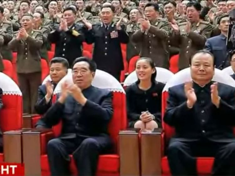 Kim Yo Jong is regularly seen at event attended by her brother