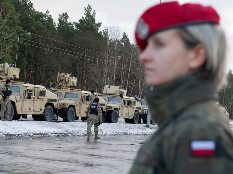 The US army said the force would improve its ability 'to respond to potential crises'
