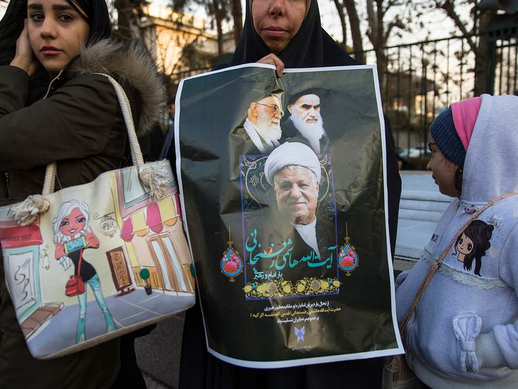 Mr Rafsanjani was seen as pivotal figure in Iran's Islamic republic