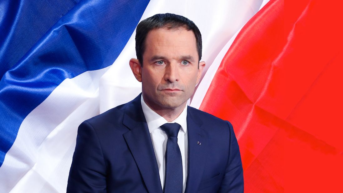 Benoit Hamon is the Socialist party candidate