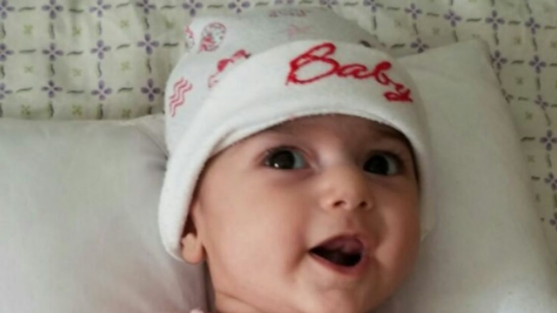 Fatemeh Reshad needs urgent heart surgery. Pic: Samad Taghizadeh