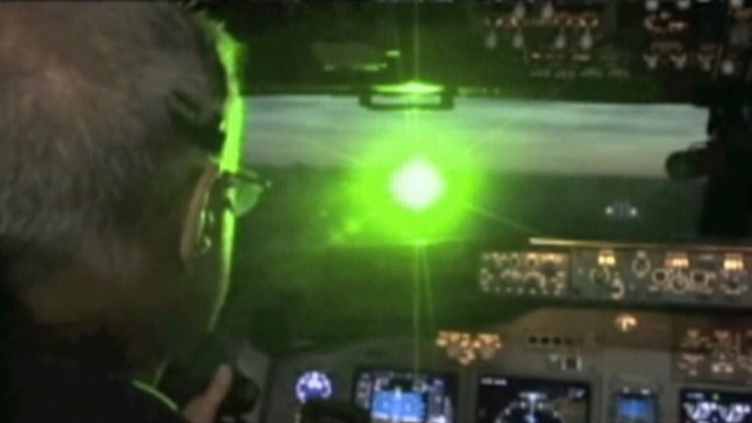 People shining laser pens to distract pilots, train and bus drivers face tough new penalties designed to protect the public.