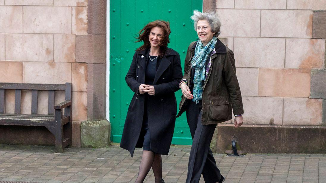 Theresa May visits Copeland, Cumbria