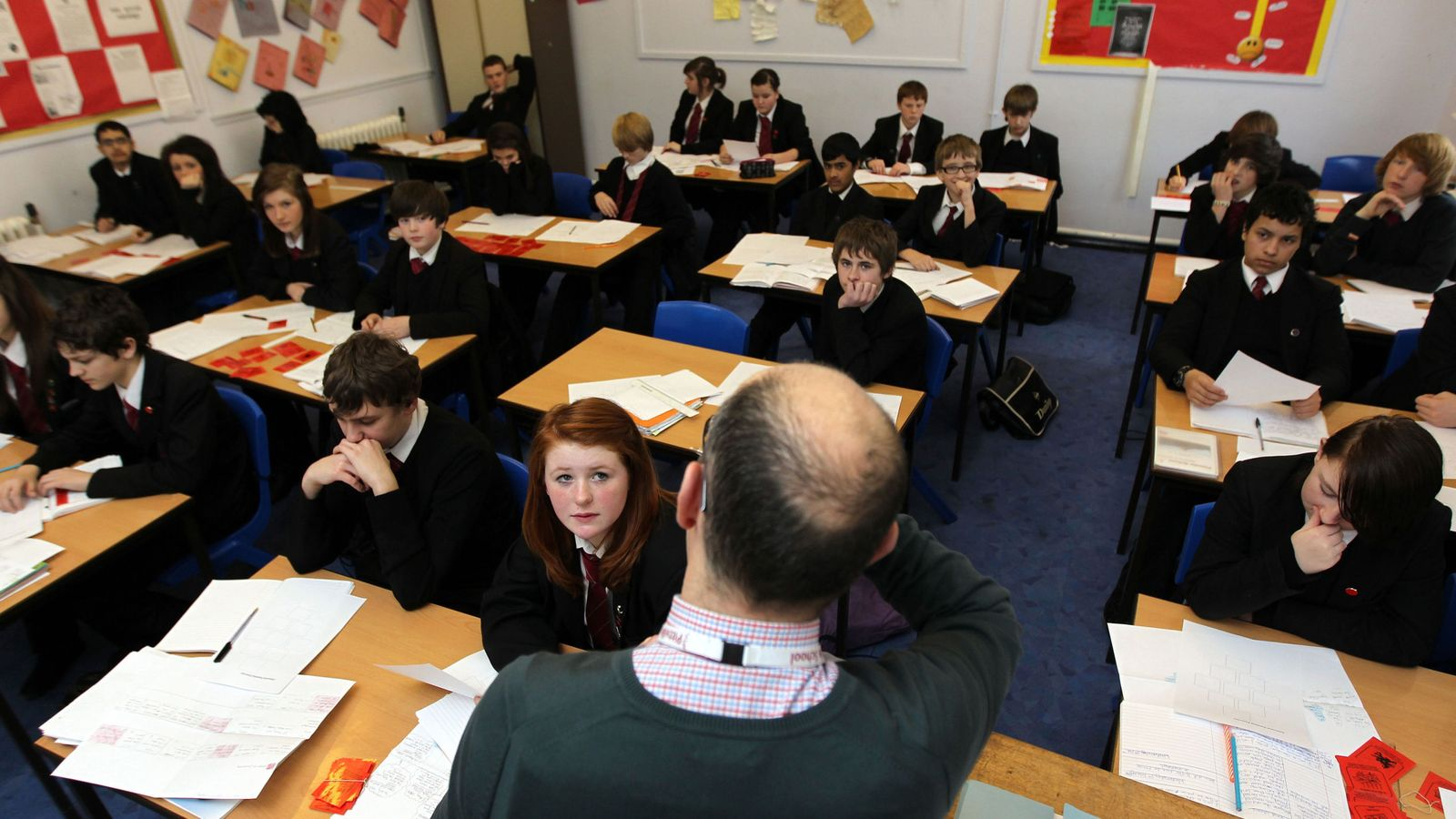 Physics and maths teachers are in short supply