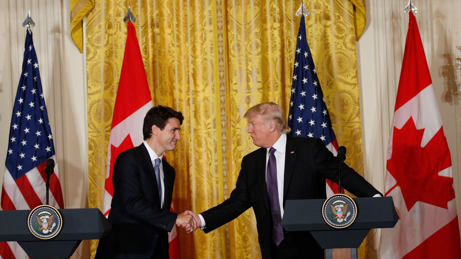 canadian dating app trump The guardian app video donald trump bragged that he made up facts in a meeting with the canadian prime trump made 2,140 false or misleading.
