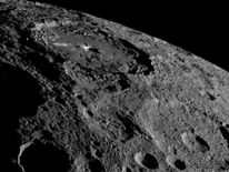 NASA's Dawn spacecraft took this image of Ceres