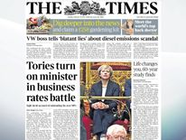 Communities Secretary Sajid Javid is being accused of misleading his own MPS over business rates, The TImes reports