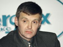 Alexander Litvinenko, then an officer of Russia's state security service FSB