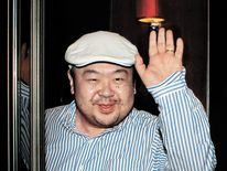 Kim Jong-Un's half-brother, Kim Jong-Nam, pictured in 2010