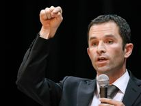 Mr Hamon is one of France's best known left-wing figures