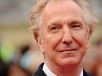 Alan Rickman died last year of cancer