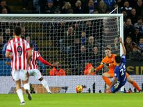 After a blip in form over Christmas, Leicester returned to the top of the table with a 3-0 win over Stoke City