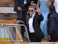 Damon attended the Clooney's wedding in Venice