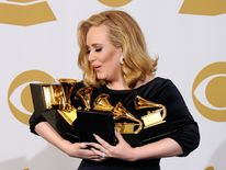 Adele will be hoping to repeat of 2012 when she won six Grammys