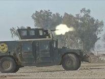 Iraqi soldiers continue the advance into western Mosul