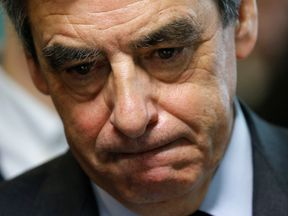 Mr Fillon previously apologised for the 'error' he made in hiring family members