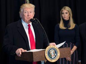Donald Trump and daughter Ivanka