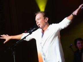 David Cassidy performing in 2012