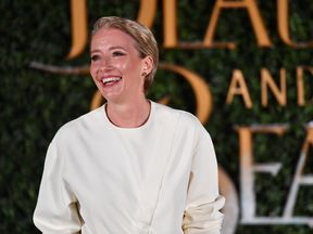 Emma Thompson at the Beauty and the Beast premier